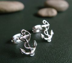 Anchor Stud Earrings- NEED!
