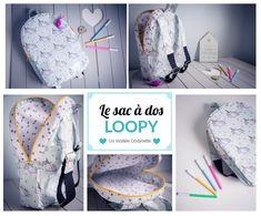 Patron couture : le sac à dos enfant Loopy
