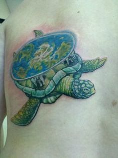discworld turtle tattoo (drawing/art by me, not from the books) Funny Tattoos, Love Tattoos, Body Art Tattoos, Discworld Tattoo, Feather Tattoos, Dandelion Tattoos, Tattoo Grafik, World Turtle, Female Tattoo Artists