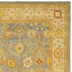 @Overstock - Safavieh Handmade Oushak Slate Blue/ Ivory Wool Rug (7'6 x 9'6) - Rejuvenate the look of your flooring with this handmade Oushak rug. The luxurious pile of this wool area rug will keep your feet warm and comfortable. A traditional Oriental design makes this rug the ideal accompaniment to your decor.  http://www.overstock.com/Home-Garden/Safavieh-Handmade-Oushak-Slate-Blue-Ivory-Wool-Rug-76-x-96/5482508/product.html?CID=214117 $367.19