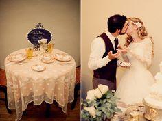 Ruffled® | Vintage Romance Wedding