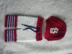 St. Louis Cardinals, Inspired Crocheted Baseball cap and pants set,,, Newborn Photo Prop