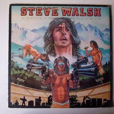 Steve Walsh Schemer Dreamer 1980 Rock Lp Vinyl Records VG+ made in USA #RockProgressiveArtRockRocknRoll