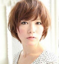 Short haircuts for asian women