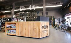 I.Martin bicycle shop by Glow Exhibitions, Los Angeles   California store design