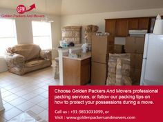We specialize in providing reliable Goods Transportation Services, which ensure absolute safety of the good during the transit. Our huge network of branches and exclusive agents across the country allow us to fulfill your requirements within stipulated time frame. Further, the well maintain fleet of vehicles assure safe delivery at your door steps. To more details visit http://www.goldenpackersandmovers.com or Contact Us 9811031099