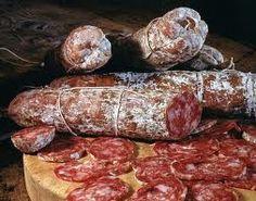 Salame di Cremona all'aglio - italian food