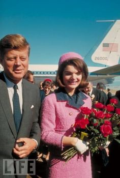 John & Jackie Kennedy - Dallas, Texas. We all remember where we were when we heard about the President.