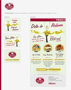 Campanha de Dieta do Abdomen - Congelados da Sônia- Newsletter e Adwords