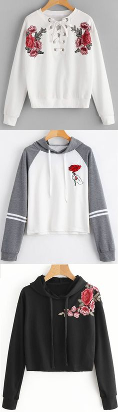 Up to 68% OFF! Applique Hoodie - BLACK M. Zaful,zaful.com,zaful fashion,tops,womens tops,outerwear,sweatshirts,hoodies,hoodies outfit,hoodies for teens,sweatshirts outfit,long sleeve tops,sweatshirts for teens,winter outfits,fall outfits,tops,sweatshirts for women,women's hoodies,womens sweatshirts,cute sweatshirts,floral hoodie,crop hoodies,oversized sweatshirt, halloween costumes,halloween,halloween outfits,halloween tops,halloween costume ideas. @zaful Extra 10% OFF Code:ZF2017