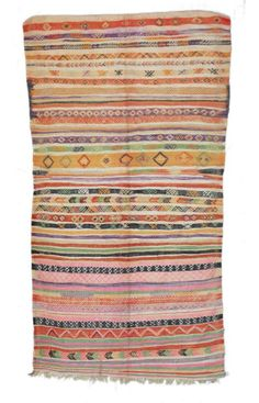 Moroccan Azrou Berber Shag Multi Rug