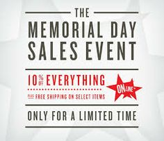 memorial day sale new york city