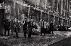 Meet the mafia. Peter Lindbergh for Vogue Italia May 2015