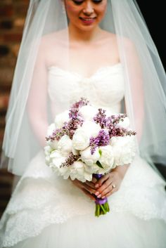 Peony and Lilac Bouquet |