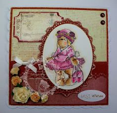 Teddy Bea card