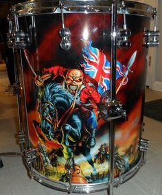Iron Maiden Posters, Where Eagles Dare, Old Rock, Aliens And Ufos, How To Play Drums, Beautiful Guitars, Drum Kits, Drummers, Led Zeppelin