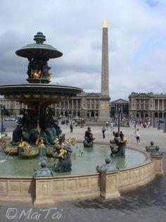 MaiTai's Picture Book: Paris ~ Place de la Concorde