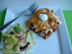 Mexican Cuisine for the Olympics: Mexican Lasagna