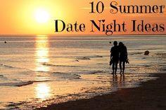10 Summer Date Night Ideas