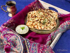 Receta PAN NAAN. Cocina Hindú