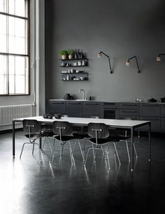 Vipp released a new table designed by Morten Bo Jensen. The clean, metal look fits perfectly within the rest of the product range and matches the Vipp kitchen so well. The post Vipp table appeared fir