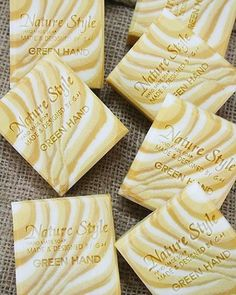 tiger stripes - handmade soap by greenhand_style