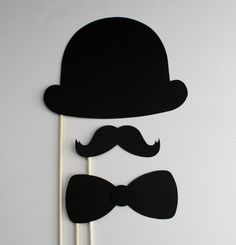 Party Props Photo Booth Props Wedding Photo by ThePaperStache, $4.85 Charlie Chaplin props