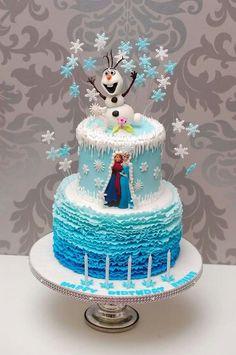 Eiskönigin Olaf / Cake Frozen