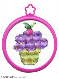 My 1st Stitch Cupcake - Beginner Cross Stitch Kit