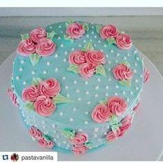 Cake de rosas