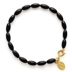 Charleston Rice Bead Bracelet - Black Charleston, Studs, Wax, Rice, Beaded Necklace, Chain, Bracelets, Earrings, Unique