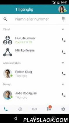 Surfia  Android App - playslack.com ,  - View colleagues' availability in real time- Use personal chats or group chats- Change your presence status- Use inbuilt softphone to make and receive calls- Transfer calls to both colleagues and external numbers- Check your data usage- Open and close your PBX directly in the app