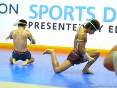Sport Demonstrations are a popular attraction at the convention. #SportAccord2013