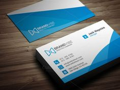 Creative Business Card Template by Arslan on Creative Market