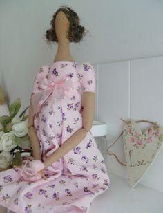 Orquídea de Feltro/ pretty pregnant doll