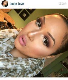Perfect makeup look. #leslie_love #instagram