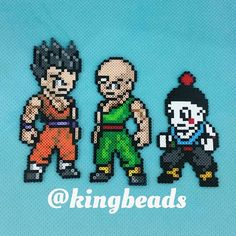 Dragon Ball perler beads by kingbeads