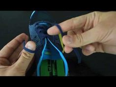 How to Tie Your Shoes Fast Way- Two moves - YouTube