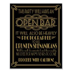 Prohibition Party, Speakeasy Party, Wedding Prints, Art Deco Wedding, 1920s Wedding, Moon Wedding, Wedding Posters, Roaring Twenties Party, Roaring 20s