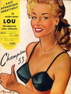 Lou (Lingerie) 1953 Pierre Laurent Brenot
