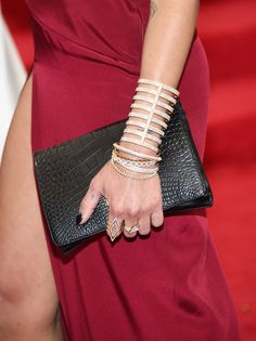 """Zoe Kravitz jewellery detail at the """"Charles James: Beyond Fashion"""" Costume Institute Gala, May 2014."""