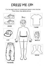 English worksheets: the Clothes worksheets, page 185