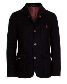 aedad003c663d7 Ted Baker Wool Shawl Collar Jacket - GAMIT Designer Jackets For Men
