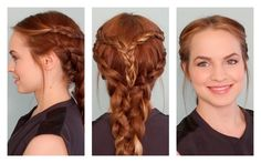 Daenerys Targaryen-Inspired Braid | 26 DIY Hairstyles Fit For A Princess