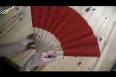 Fächer basteln - Anleitung, weils doch sicher heiß ist oder regnet