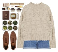"""""""#833 Louisa"""" by blueberrylexie ❤ liked on Polyvore featuring Calvin Klein Jeans, Linda Farrow, Royce Leather, Tea Collection, ASOS, Madewell, Aesop, Stila, AERIN and Accessorize"""
