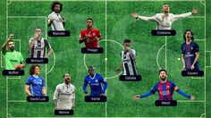 World Soccer's best starting XI for the 2016/17 season includes Cristiano, Ramos & Marcelo.