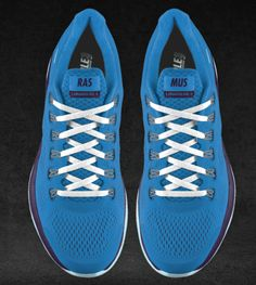 Nike running shoes with my personal twist