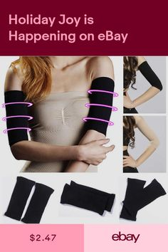 8a83c2614d550 Women Shaper Weight Loss Fat Off Thin Legs Arm Slimmer Wrap Belt Sleeves  Gloves. Other Weight Management Health   Beauty  ebay