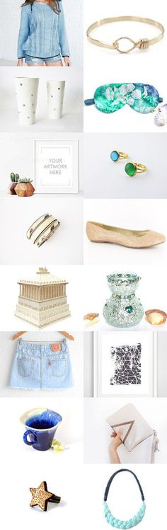 SUMMER FINDS by Malory on Etsy--Pinned+with+TreasuryPin.com